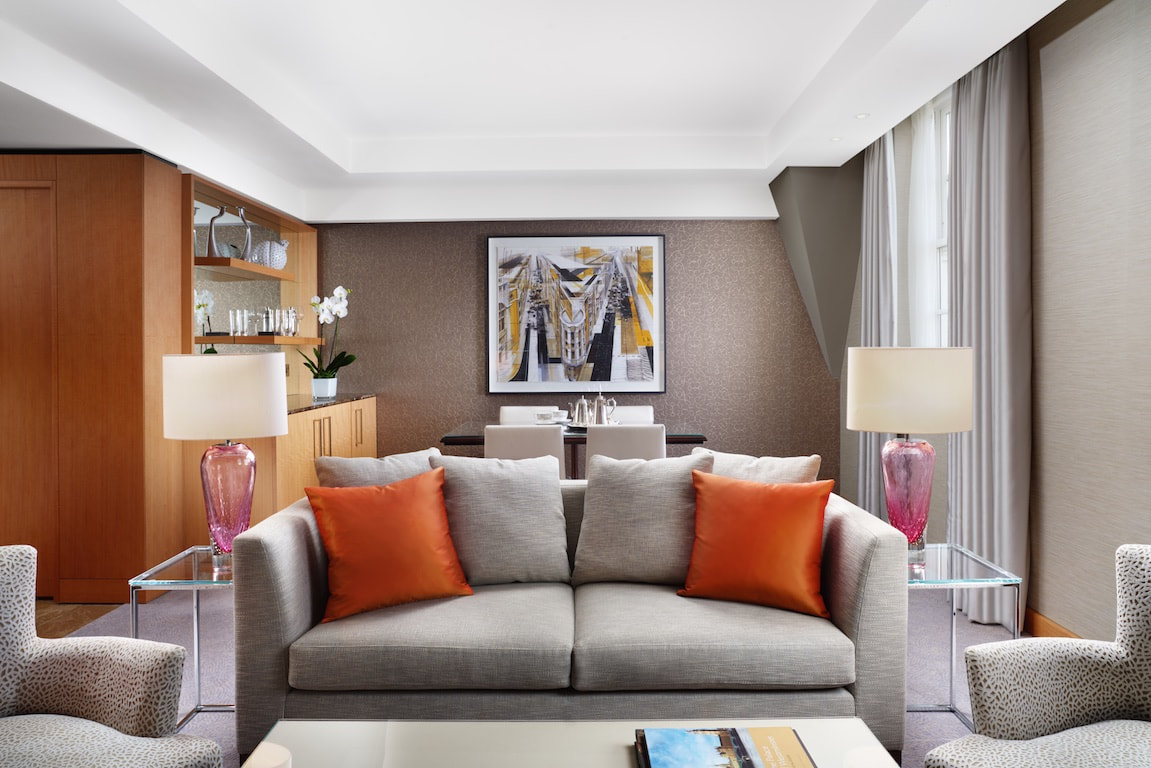 Luxury hotels in London near St. James Park, the Conrad St James