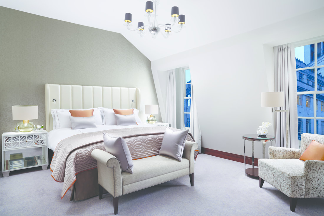 Luxury hotel Suite at  Conrad St James London
