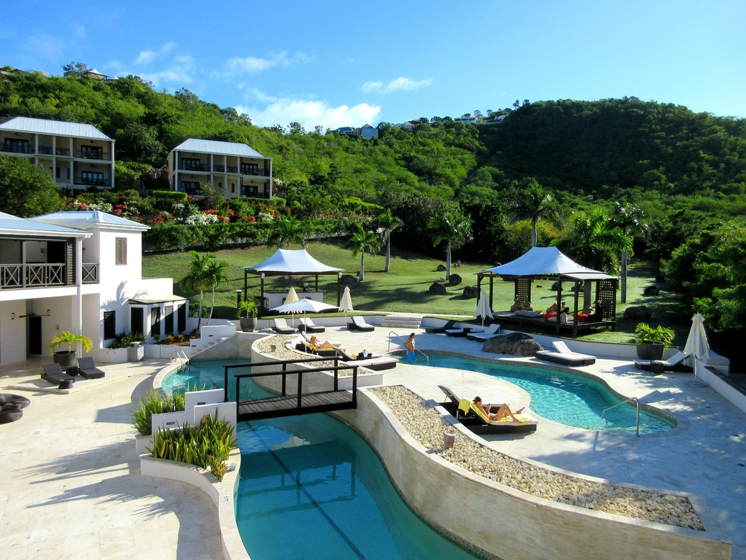 The pool at Sugar Ridge Antigua