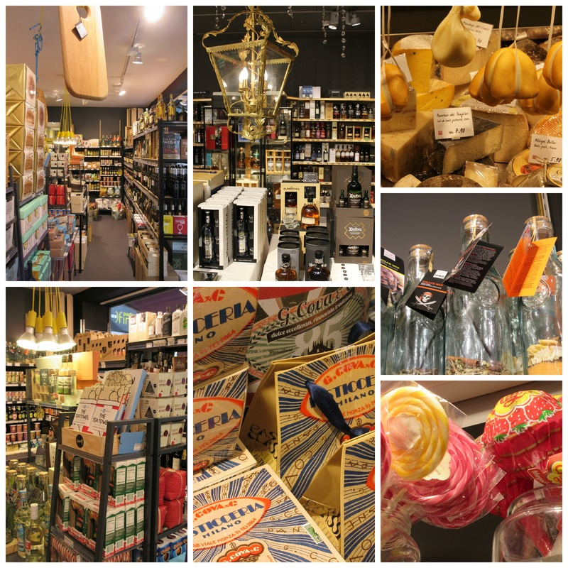 gourmet food shops in Lausanne