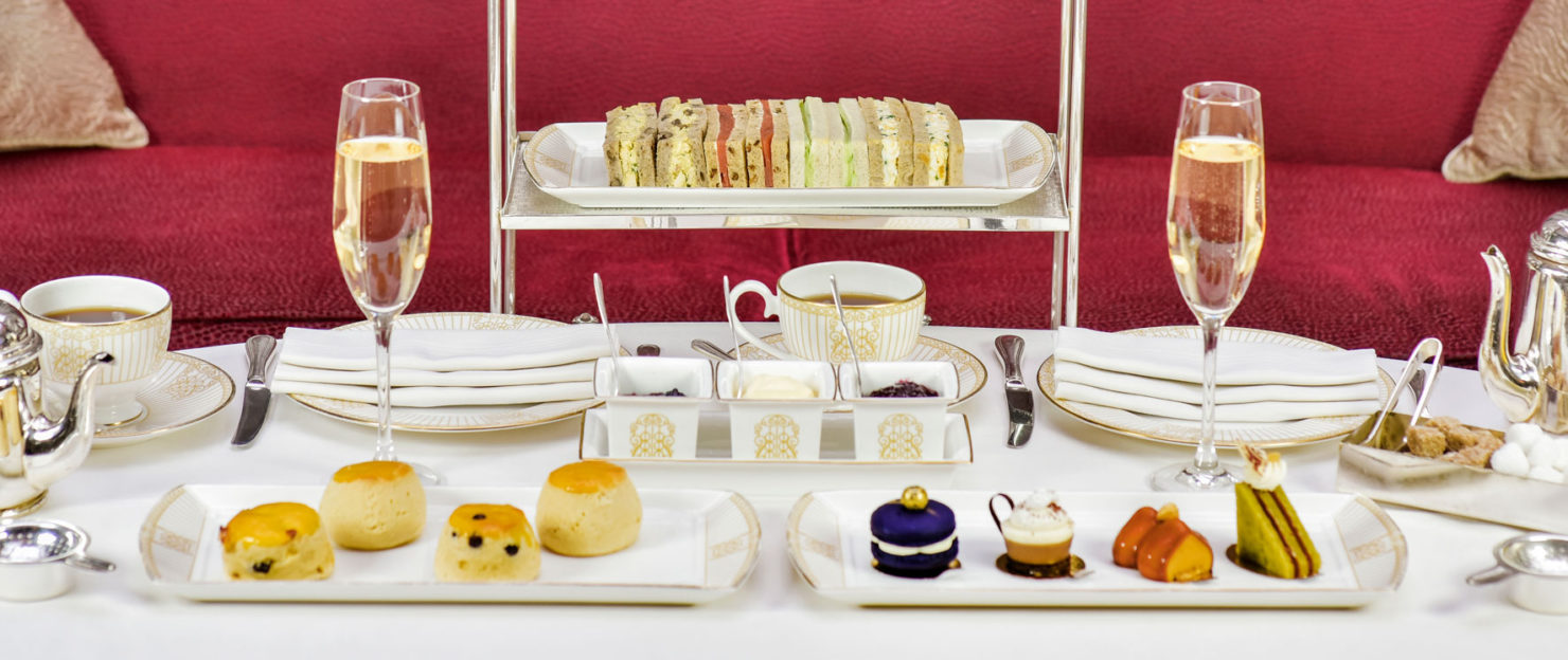 Best afternoon tea in London. Destination Delicious reviews The Landmark London
