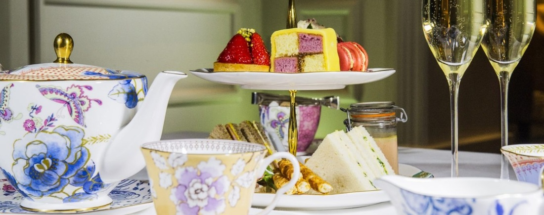 afternoon tea at Arch London Hotel