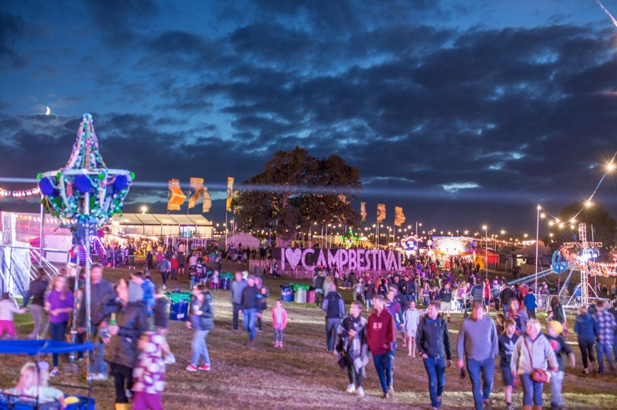 Camp Bestival festival review Ben Ricci Destination Delicious