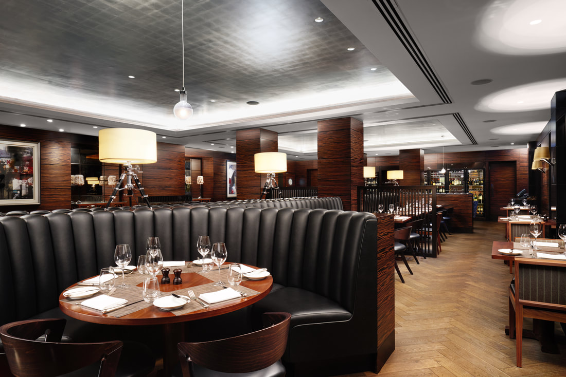 Hotel restaurants in London - breakfast at the Conrad St James London