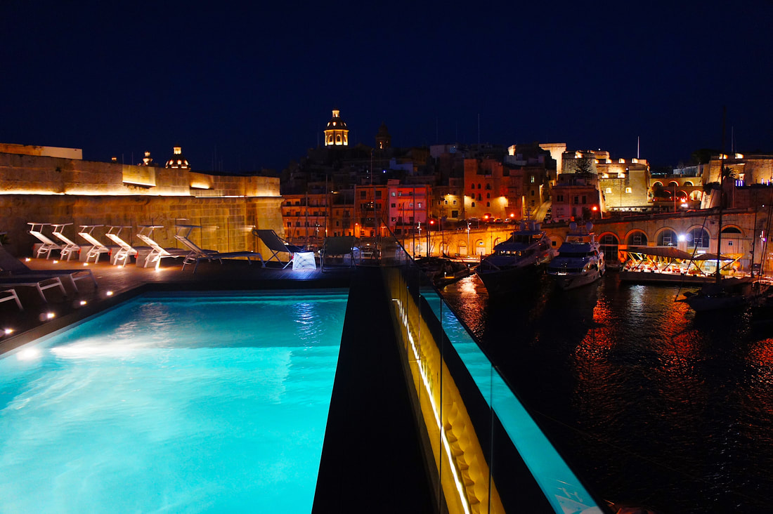 Rooftop pools in Malta -  Cugo Gran Marcia
