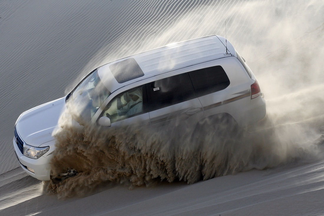 Dune bashing in Doha Qatar Destination Delicious