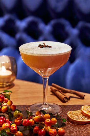 The best festive cocktails - Rake's Liverpool Street London