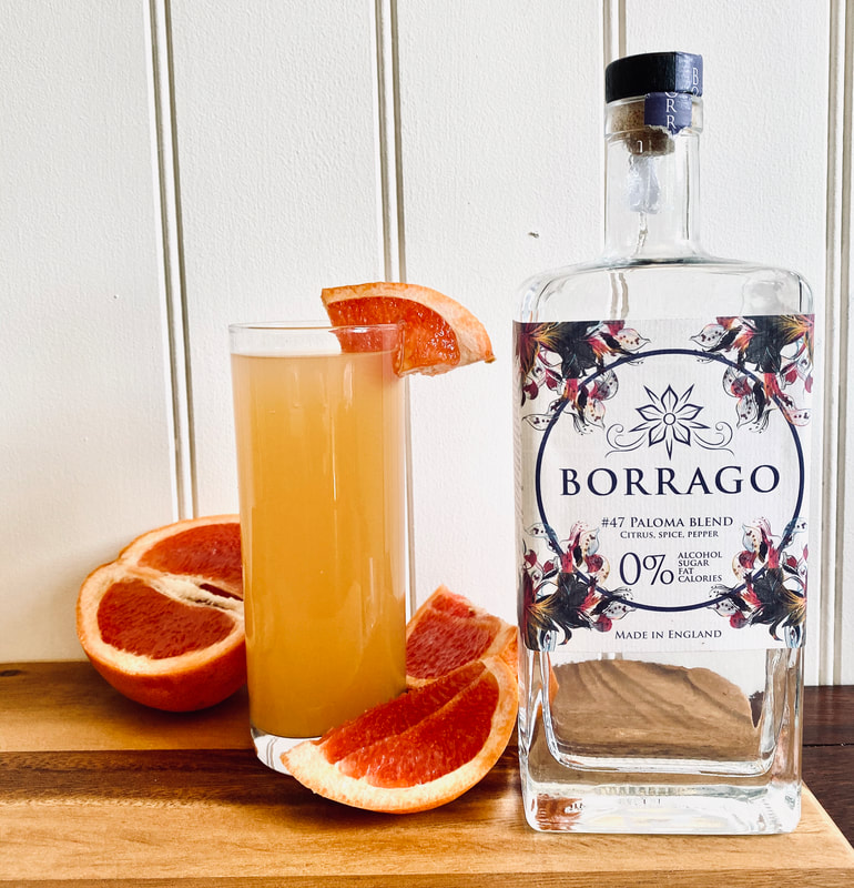 Best non-alcoholic spirits - Introducing Borrago
