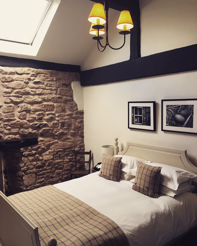 Room 19 at Tudor Farmhouse Hotel Gloucestershire
