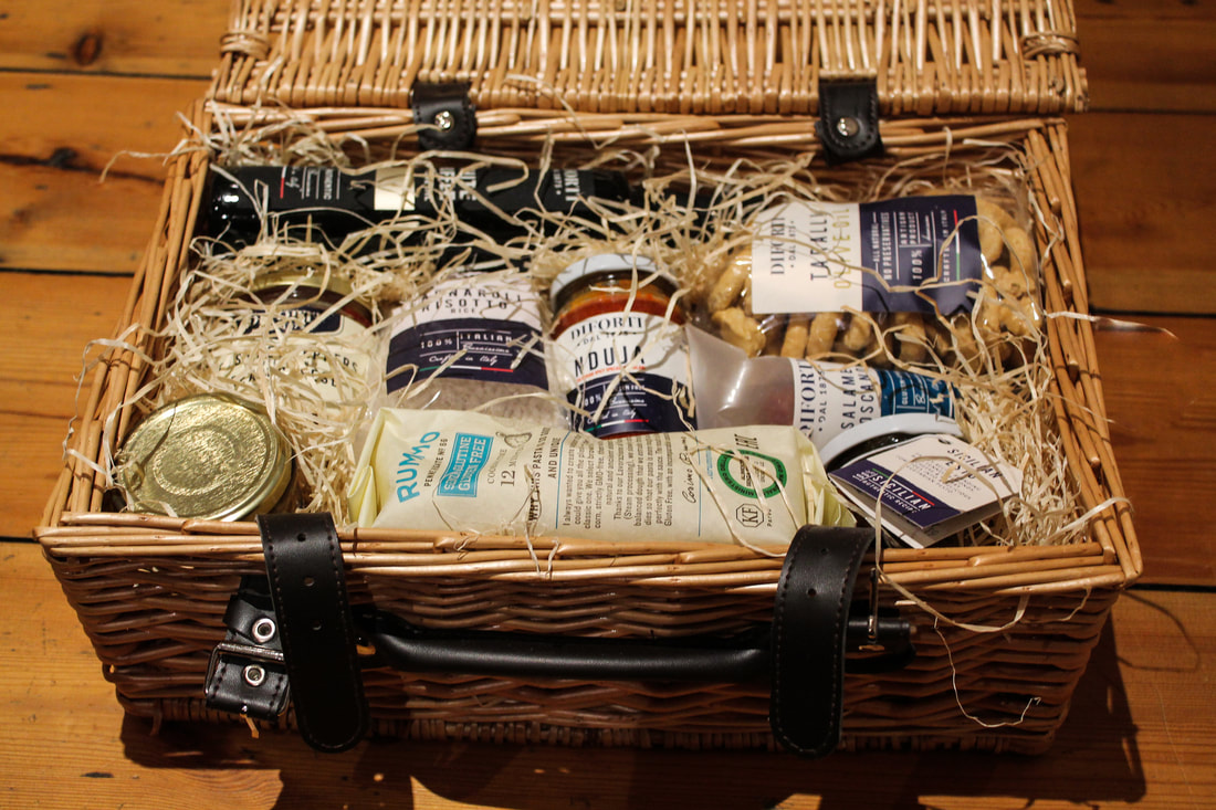 The best gifts for foodies - The Diforti Italian Christmas hamper