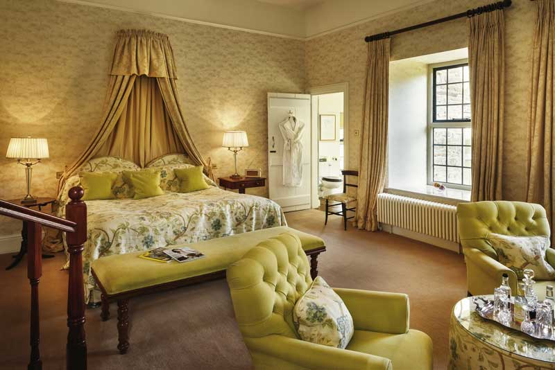 Welsh luxury hotels - Llangoed Hall