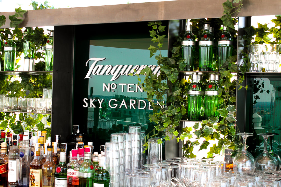 Tanqueray Sky Garden at NH Collection Madrid Gran VIa