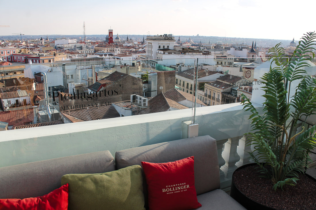 Best rooftop bars in Madrid - NH Collection Madrid Gran Via