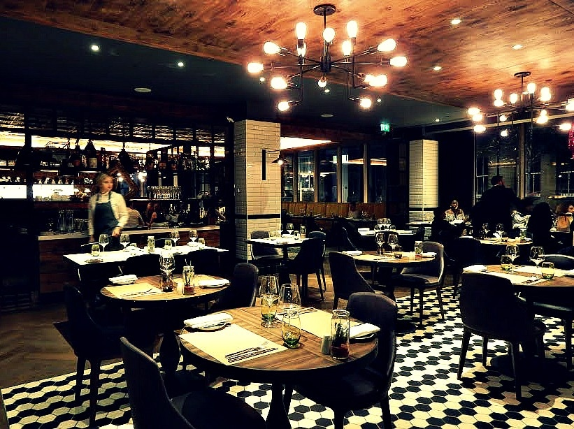 OXBO Bankside London restaurant review Destination Delicious