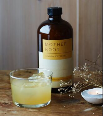 The best drinks for Burns Night - Mother Root Ginger Switchel