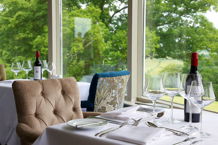 Best foodie hotels in Devon - Highbullen Hotel