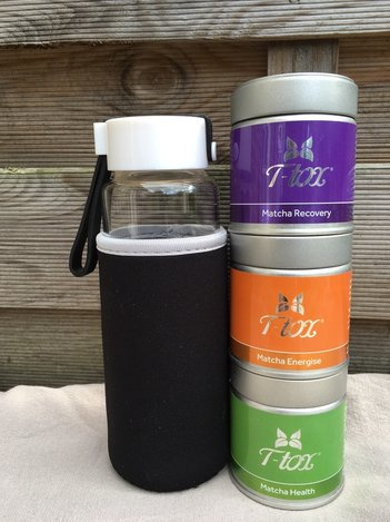 T-Tox Matcha tea range review Destination Delicious