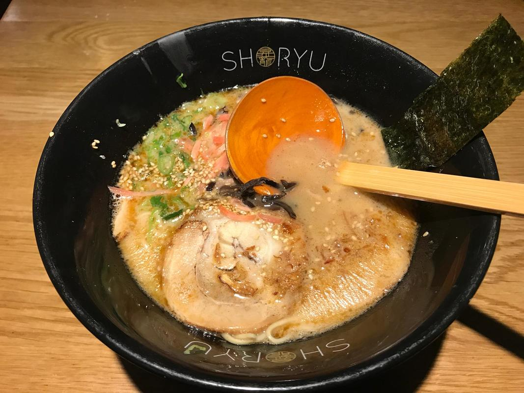 Shoryu New Oxford Street, London restaurant review by Destination Delicious