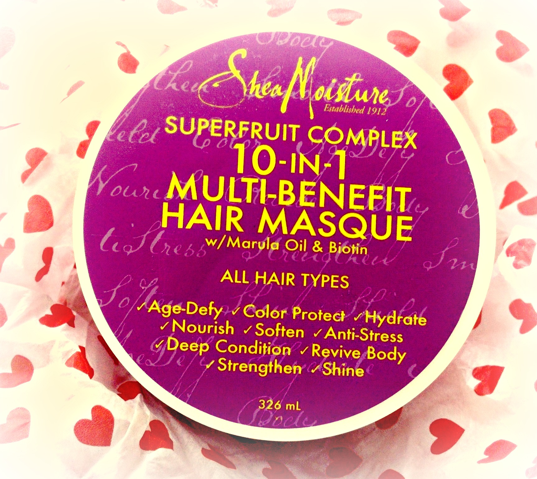 Shea Moisture Superfruit Complex 10-in-1 Multi-Benefit Hair Masque with Marula Oil and Biotin