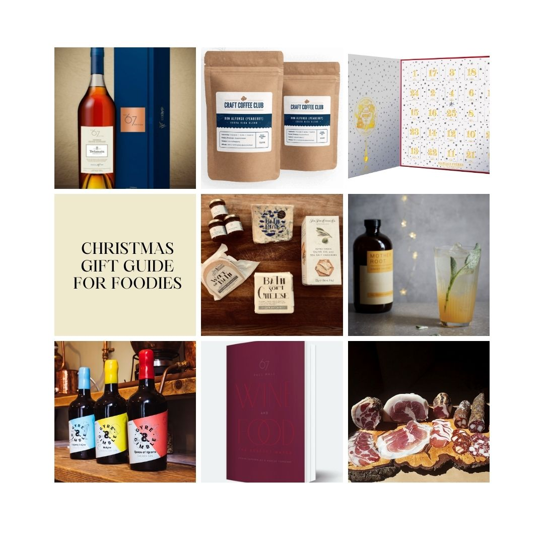 Luxury food and drink Christmas gift guide from Destination Delicious