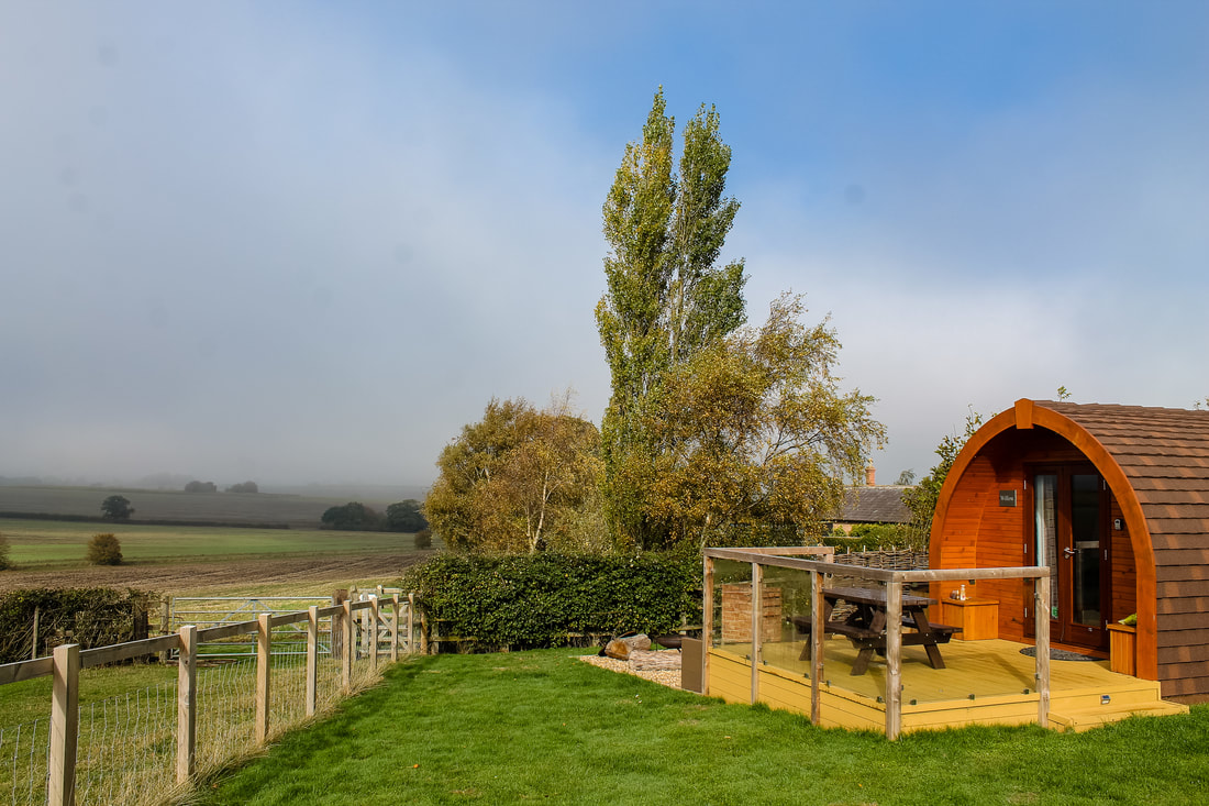 Luxury camping - glamping pods - Wingbury Farm Glamping from Glampingly