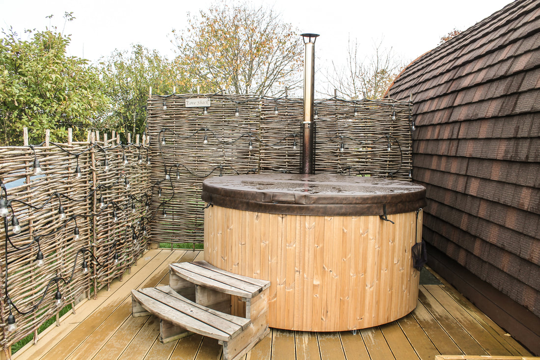 Rural retreat with hot tub in Buckinghamshire