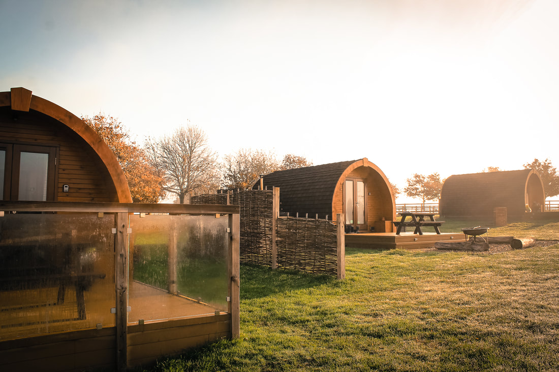 UK glamping holidays - Wingbury Farm Glamping, Buckinghamshire