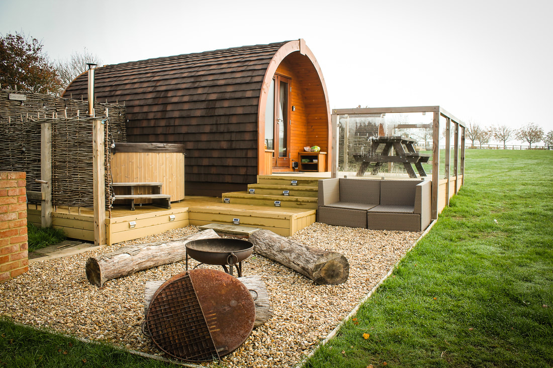 Best countryside family breaks in England - UK glamping holidays - Wingbury Farm Glamping, Buckinghamshire