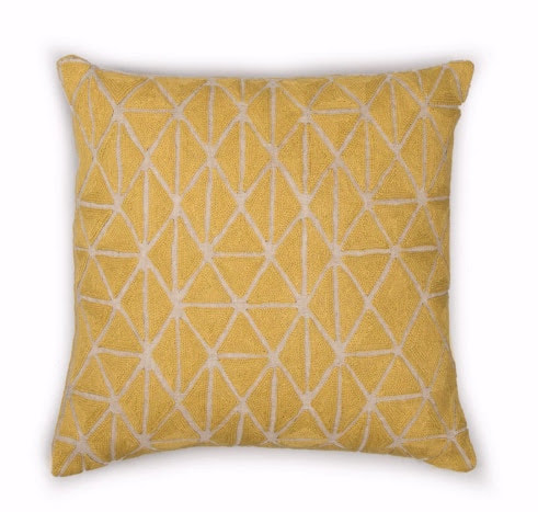 yellow cushion by Another Country